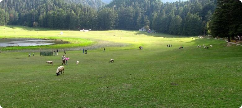 Breathtaking Khajjiar lake, unforgettable Himachal Pradesh