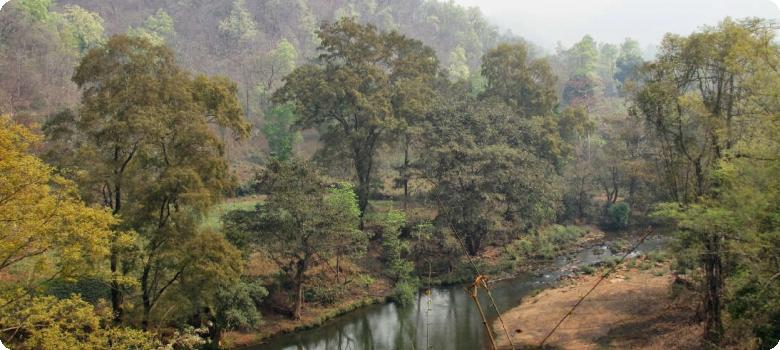 Calm river Koina Manoharpur