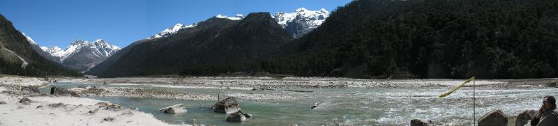 Yumthang Valley facing North-East