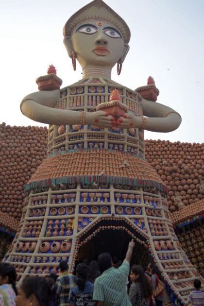 Welcome, Kolkata Durga Puja 2015