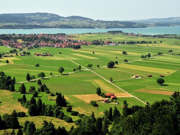 Alpine foothills, Germany