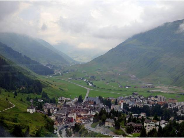 Andermatt valley