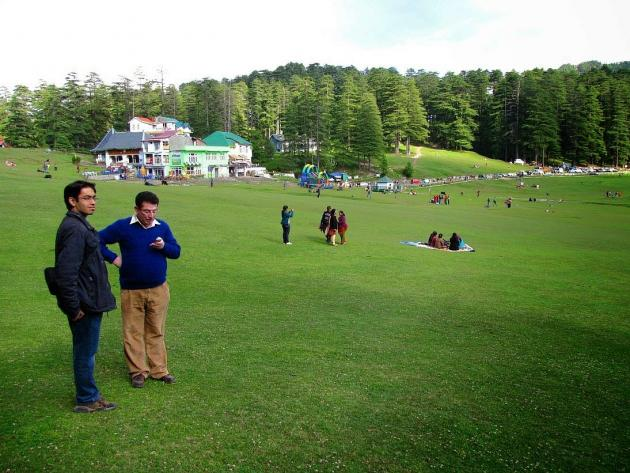 Action area Khajjiar lake ground