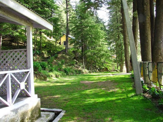 Rest house at Khajjiar