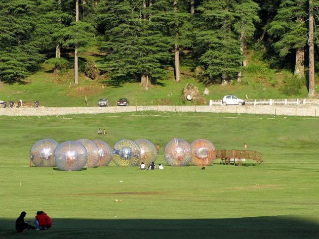 Resting globes