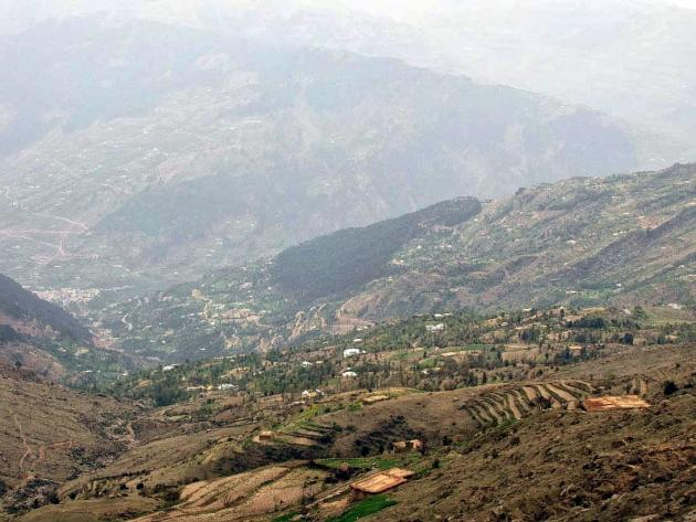 Villages on the valley