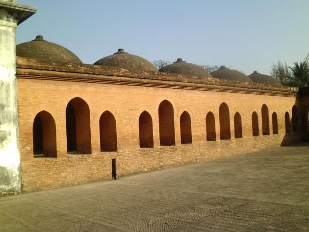 A wing of Katra Masjid