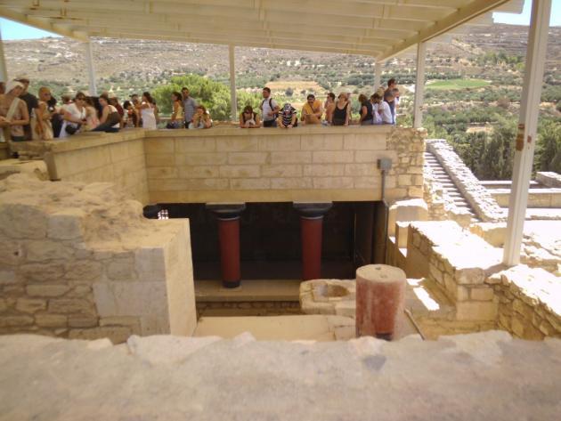 Minoan ruins