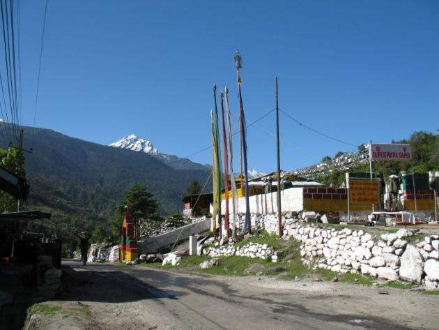 Gurudwara outside Lachung, towards Yumthang