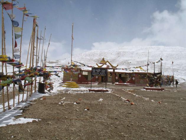 Sarv Dharm Sthal at Gurudongmar