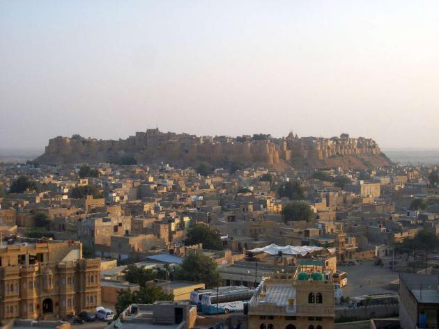 Sonar killa, Jaisalmer fort and the town