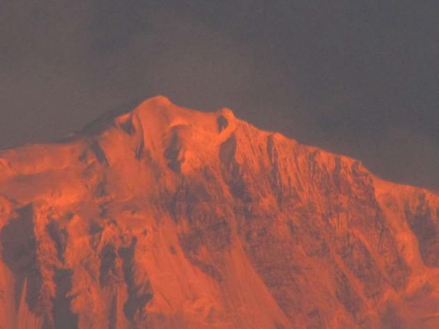 Sunrise over Himalayas