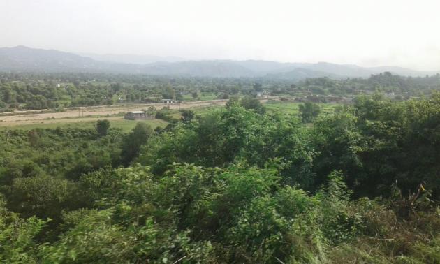 Nearing Udhampur