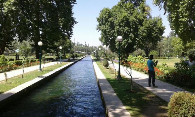 Verinag garden, Kashmir